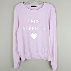 WILDFOX   Lavender Lazy Sweatshirt